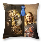 Child Of The Forest - 1st Place. Throw Pillow