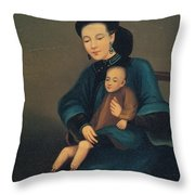 Child With Gangrene Throw Pillow