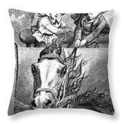 Children, 19th Century Throw Pillow