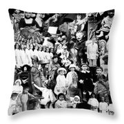 Children Of The World Throw Pillow