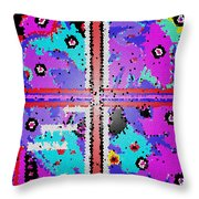 Children Playing With Glass Throw Pillow