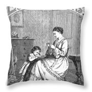 Childrens Magazine, C1885 Throw Pillow