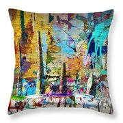 Child's Painting Easel Throw Pillow