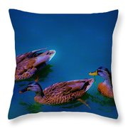 Chiling Throw Pillow