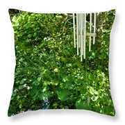 Chimes And Bells Throw Pillow