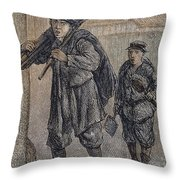Chimney Sweeps Throw Pillow