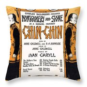 Chin Chin Throw Pillow