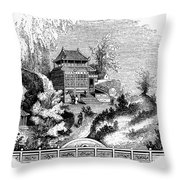 China: Imperial Palace Throw Pillow
