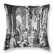 China: Paying Tribute, C1600 Throw Pillow