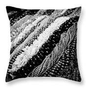 Chinatown Beads Throw Pillow