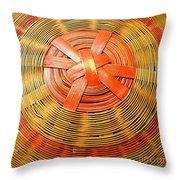 Chinese Basket Texture Throw Pillow