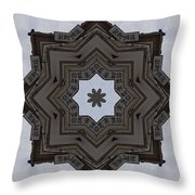 Chinese Star Throw Pillow