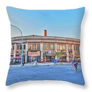 Chippewa And Delaware Throw Pillow