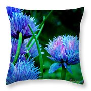 Chives For You Throw Pillow