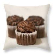 Chocolate Indulgence Throw Pillow