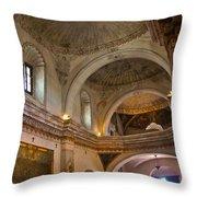 Choir Loft San Xavier Mission Throw Pillow