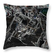 Chopp It Up Throw Pillow