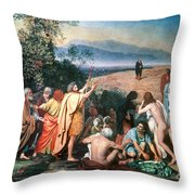 Christ Appears Throw Pillow