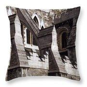 Christ Church Cathedral, Dublin City Throw Pillow