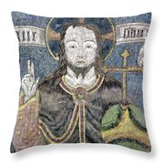 Christ In Majesty Throw Pillow