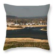 Christchurch Dorset Throw Pillow