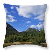Christina Lake - North End Of The Lake Throw Pillow