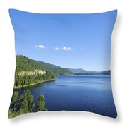 Christina Lake Throw Pillow