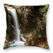 Christine Falls Canyon Throw Pillow