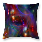 Christmas Abstract 112711 Throw Pillow