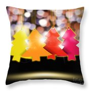 Christmas And New Year 2013 Throw Pillow