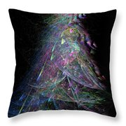 Christmas Tree 67 Throw Pillow
