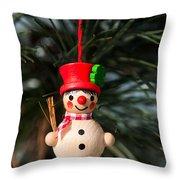 Christmas Tree Decoration Throw Pillow