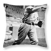 Christopher Mathewson Throw Pillow