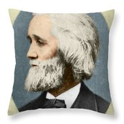 Christopher Sholes, American Inventor Throw Pillow