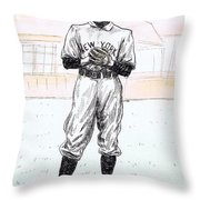 Christy Mathewson Throw Pillow