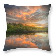 Chromalite Echo 4.0 Throw Pillow