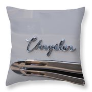 Chrysler Throw Pillow
