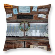 Chuck Wagon Throw Pillow