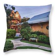 Church And Del La Mare Throw Pillow