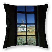 Church At Dorothy Throw Pillow
