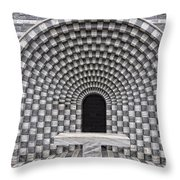 Church Chapel Made In Stone Throw Pillow