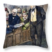 Church Collection, 1872 Throw Pillow