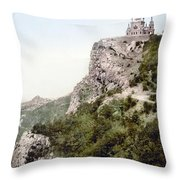 Church In Crimea - Ukraine - Russia Throw Pillow