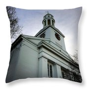 Church In Perspective Throw Pillow