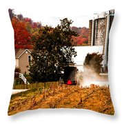 Church Is Over Heading Home Throw Pillow