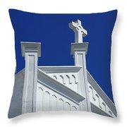 Church Key West Florida Throw Pillow
