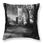 Church Of St Mary Magdalene Throw Pillow by Simon Marsden