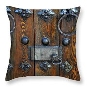 Church Stronghold  Throw Pillow