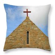 Church Top Throw Pillow