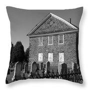 Church Yard Throw Pillow